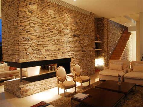 interior faux stone wall treatments