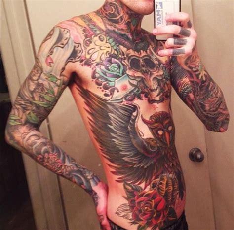 mitch lucker owl tattoo design 93 best images about stunning body art tattoos on pinterest