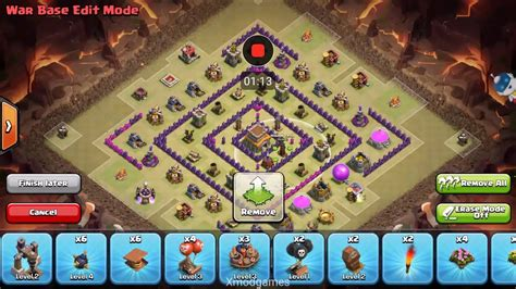 copy layout coc pake xmod how to copy others base clash of clans youtube