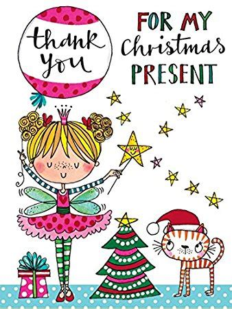 rachel ellen girls christmas thank you cards gifts
