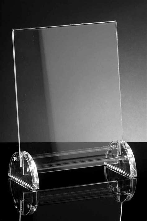 menu da tavolo porta menu da tavolo in plexiglass