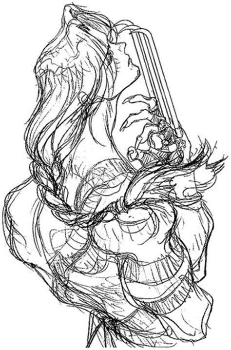 Street Fighter Galleries: Super Street Fighter 2 X: Sketches 1