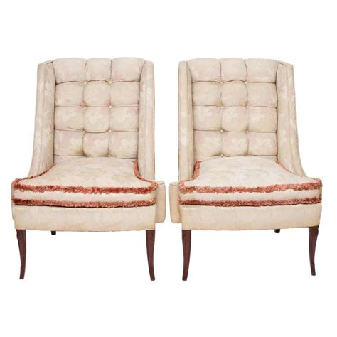 custom folding cing chairs 1930s custom vintage shabby chic wing chairs for sale at