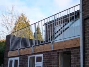 Handrail Extensions Roof Garden Amp Decking London London Roof Gardens