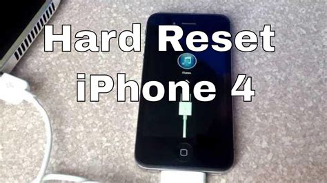 reset iphone 4