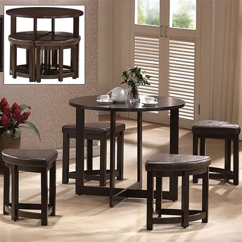 Pub Table With Nesting Stools by Rochester Bar Table Set With Nesting Stools In Bar Table Sets
