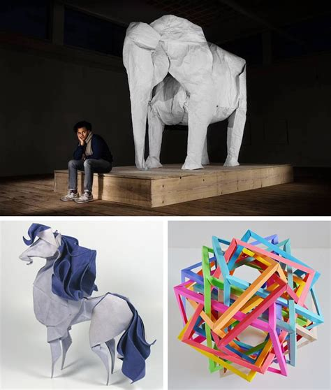Origami Artists - contemporary origami artists take paper folding to new levels