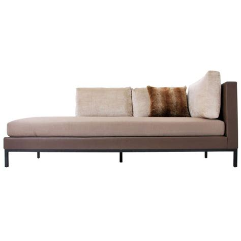 settee daybed christian liaigre for holly hunt sofa daybed pair