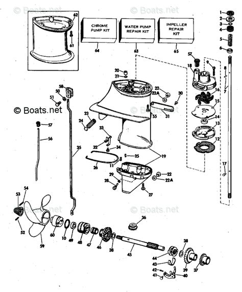 boats net evinrude parts evinrude outboard parts by year 1978 oem parts diagram for