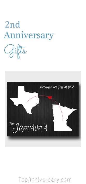 Wedding Anniversary Second Gift by Second Wedding Anniversary Gift Ideas