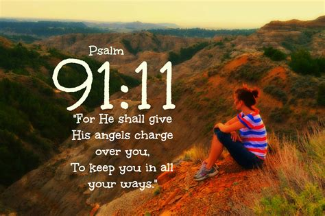 Guardian Number 911 Psalm 91 11 Words With Meaning