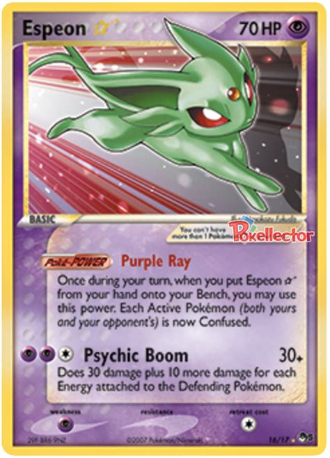 Pop Series espeon pop series 5 16 card
