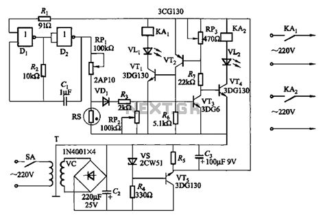 transistor nand gate schematic gt automations gt power gt it uses nand gate transistor and humidity circuit l59755