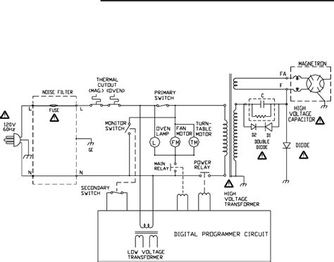 microwave oven diagram wiring diagram with description