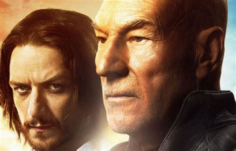 james mcavoy young picard patrick stewart shares first photo from new star trek