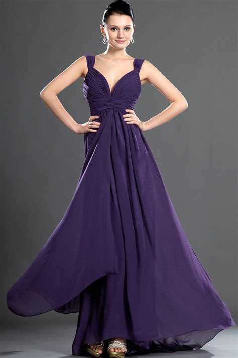 To Dress Violet 5 types of purple evening dresses