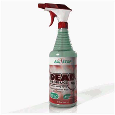 dead bed bugs contact killing spray  oz health care stuffs