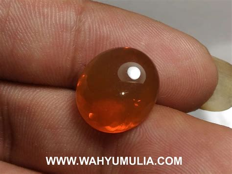 Batu Akik Opal Orange batu permata opal orange kode 543 wahyu mulia