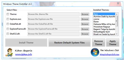 theme windows 8 1 installer tutorial personalize background on windows 7