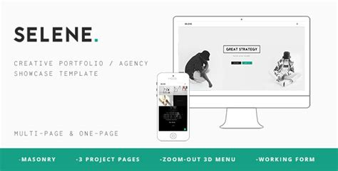 Pontus Creative Portfolio Agency Template themeforest free file of the month nominations february