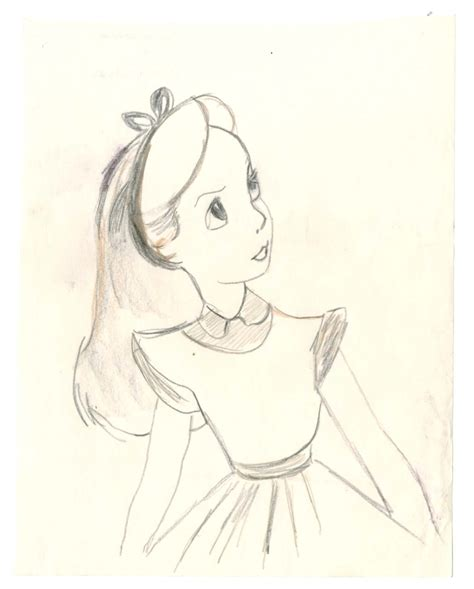 sketch book character vintage disney in character study