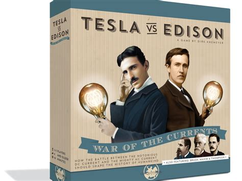 Edison Vs Tesla Tesla Vs Edison Board Up On Kickstarter Tabletop