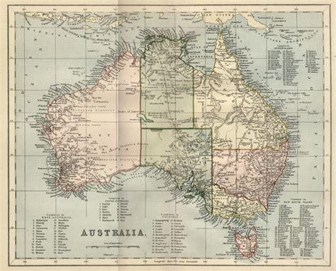free maps australia free vintage digital sts vintage printable map