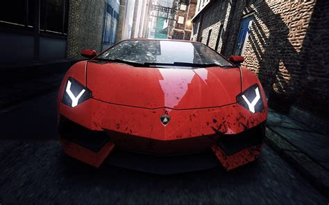 Lamborghini Nfs Lamborghini 2012 Nfs Most Wanted Wallpapers Hd Wallpapers