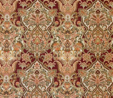 Damask Fabric For Upholstery by Upholstery 54 Quot Wide Duchess Cider Damask Jacquard Drapery