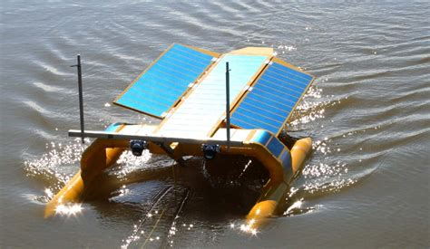 trash in boat fuel tank seavax sea vax robotic ocean plastic oil spill cleaning