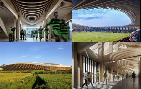 Plans To Build the first wooden stadium in football history forest