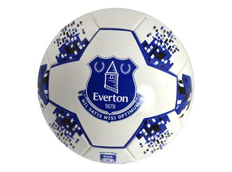 everton fc toffees football club star soccer ball blue
