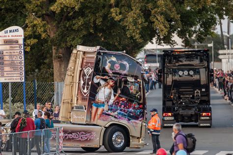 biggest truck show  europe  le mans race track hd photo galleries