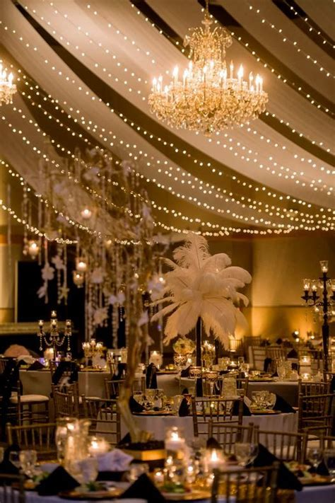 The Great Gatsby Home Decor by 1920 S Gatsby Party Decorating Ideas