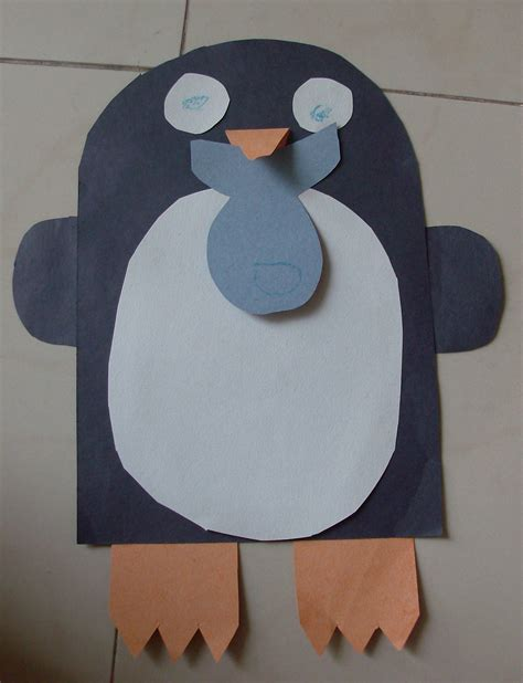 Paper Penguin Craft - preschool crafts for 9 penguin winter crafts
