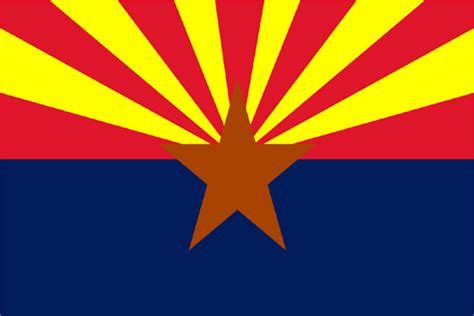 arizona state colors origami n stuff 4 50 states