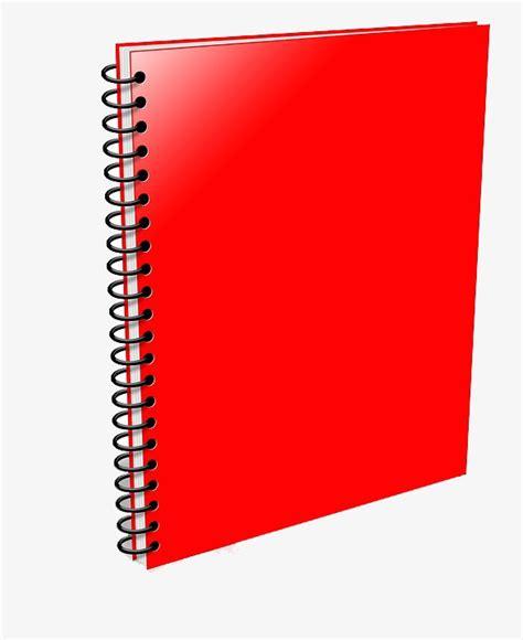 este cuaderno es para cuaderno rojo notebook cuaderno de dibujos animados rojo imagen png para descarga gratuita