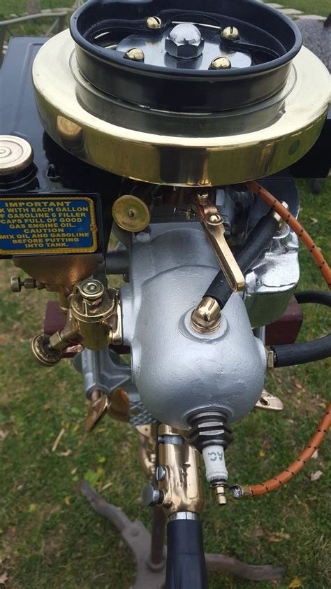 row boat with motor 1917 evinrude row boat motor rbm antique outboard boat