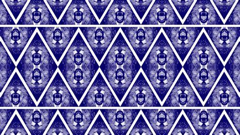 pattern gang blue lion triangle bandana pattern wallpaper by cugini on