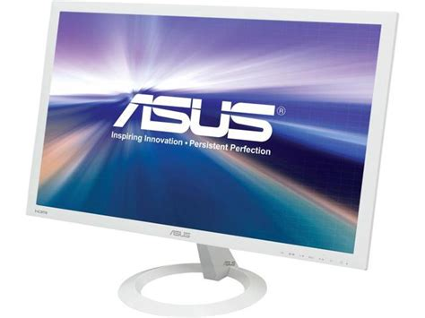 Asus Laptop Screen White Lines asus vx238h w white 23 quot 1ms gtg hdmi widescreen led backlight lcd monitor 250 cd m2 80 000 000