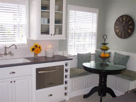 breakfast nook cabinets kitchen dining banquette seating from bistro into your
