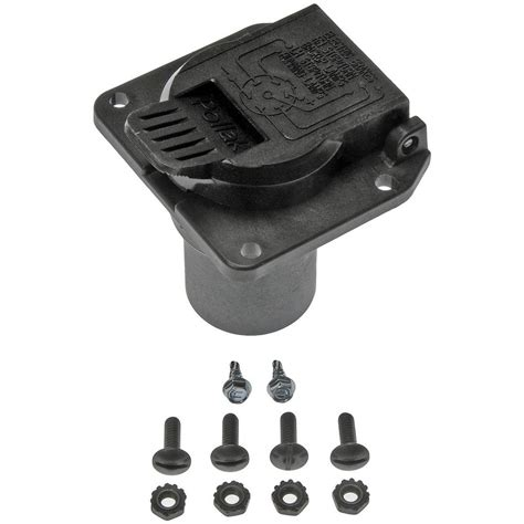 oe solutions trailer hitch electrical connector plug 924