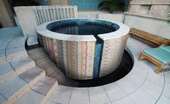 custom tile designs  pool patio artaic