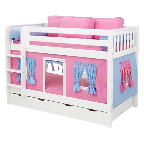 bunk bed tents have to have it hot shot girl twin over twin tent bunk