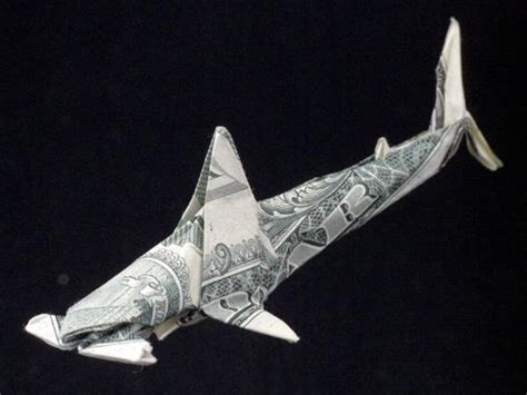 Dollar Origami Shark - master dollar bill origami by won park