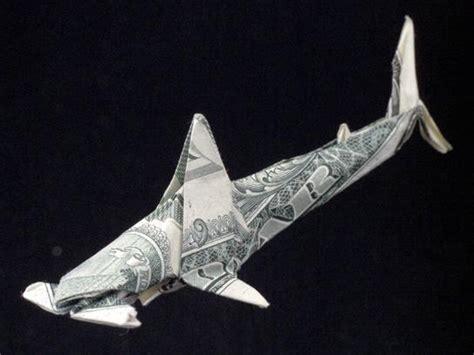 dollar origami shark master dollar bill origami by won park
