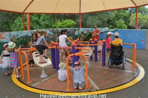accessible swing accessible playground features i love have wheelchair