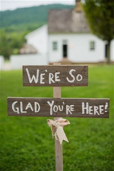Handmade Sign Ideas - wedding ideas top 15 rustic wedding signs