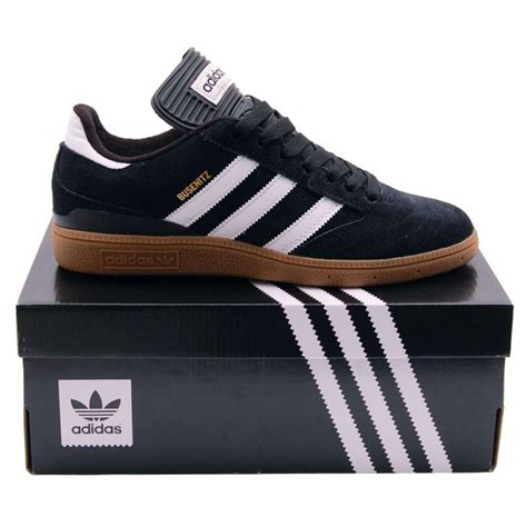 adidas originals busenitz black running white mens shoes from attic clothing uk