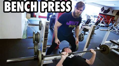 how to start bench pressing teen beginners bodybuilding training bench press youtube